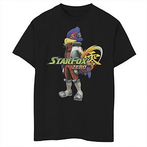 Boys' 8-20 Nintendo Star Fox Logo Falco Graphic Tee
