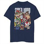 Boys' 8-20 Nintendo Super Grouper Graphic Tee