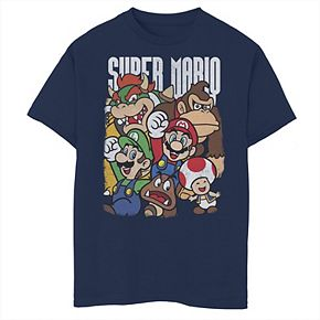 Boys' 8-20 Nintendo Super Grouper Graphic Tee