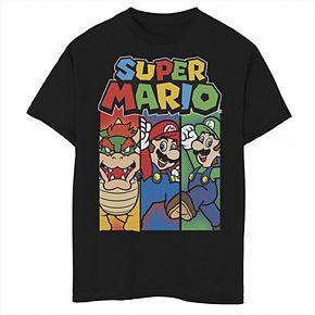 Boys' 8-20 Nintendo Mario's Story Graphic Tee