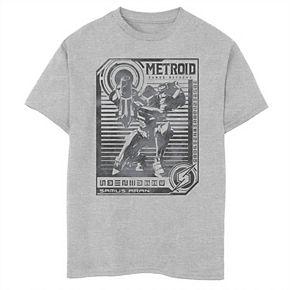 Boys' 8-20 Nintendo Metroid Posted Graphic Tee