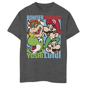 Boys 8-20 Nintendo Super Mario Bros. Character Tee