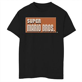 Boys 8-20 Nintendo Super Mario Bros. Start It Up Tee