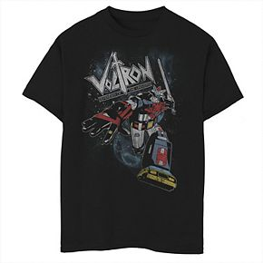 Boys' 8-20 Voltron Car Attack Graphic Tee