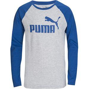 Boys 8-20 Puma No. 1 Logo Pack Raglan Tee