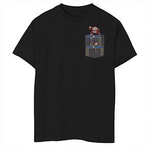 Boys' 8-20 Nintendo Donkey Kong Ladder Man Graphic Tee