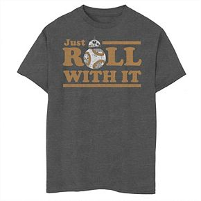 Boys' 8-20 Star Wars Just Roll Graphic Tee