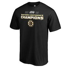 28cdeaa88d2 Men's Boston Bruins 2019 Eastern Conference Champions Defender Roster Tee