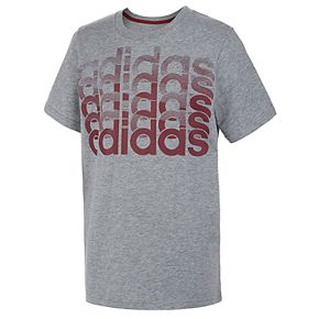 Boys 8-20 adidas Repeating Logo Tee