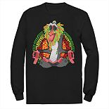 Men's Disney's Lion King Freaky Rafiki Long Sleeve Tee