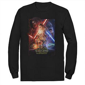 Men's Star Wars Legit Poster Long-Sleeve Tee