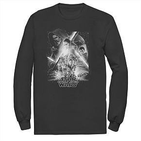 "Men""s Star WarsThe Awakens Poster Tee"