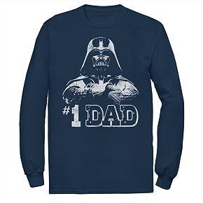 Men's Star Wars Number 1 Dad Graphic Tee