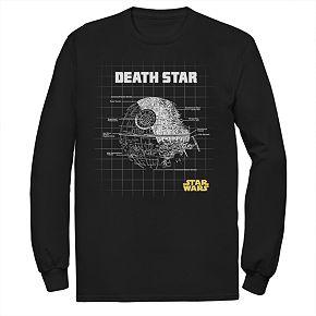 Men's Star Wars Schematics Graphic Tee