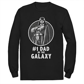 Men's Star Wars Number One Dad In The Galaxy Graphic Tee