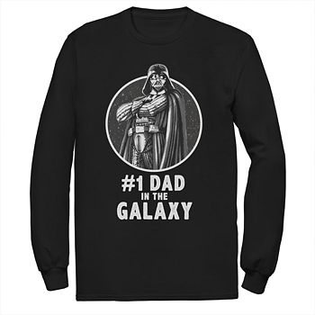 ee50f8ef3 Men's Star Wars Number One Dad In The Galaxy Graphic Tee