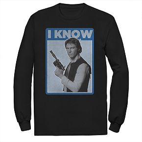 Men's Star Wars Han Love Long-Sleeve Tee