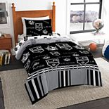 Los Angeles Kings NHL Twin Bedding Set by Northwest
