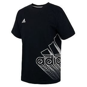 Boys 8-20 adidas Wrap Logo Tee