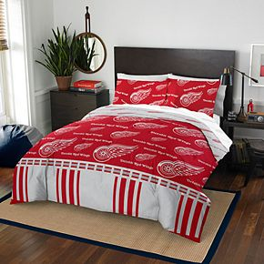 Detroit Red Wings NHL Full Bedding Set by Northwest
