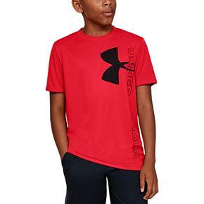 Boys' 8-20 Under Armour Split Logo Short Sleeve Tee