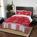 Detroit Red Wings Queen Bedding Set by Northwest