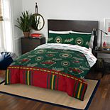 Minnesota Wild Queen Bedding Set by Northwest