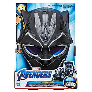 Marvel Black Panther Vibranium Power FX Mask with Pulsating Light Effects by Hasbro