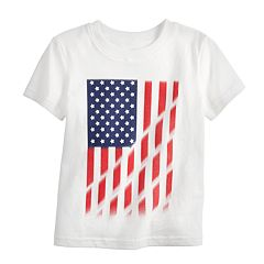 Baby Boy Jumping Beans® American Flag Graphic Tee