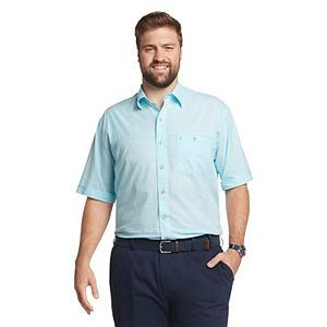 Big & Tall IZOD Sportswear Dockside Chambray Button-Down Shirt