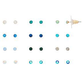 LC Lauren Conrad 12-Pair Stud Earring Set