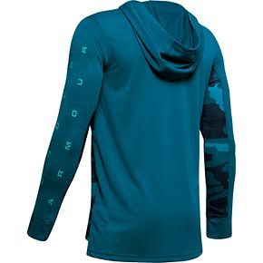Boys 8-20 Under Armour Relay Long-Sleeve Hoodie Tee