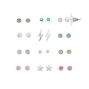 LC Lauren Conrad 12-Pair Stud Earring Set