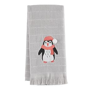 LC Lauren Conrad Penguin Hand Towel