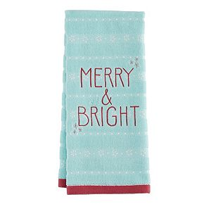 LC Lauren Conrad Merry & Bright Hand Towel