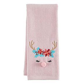 LC Lauren Conrad Oh Deer Hand Towel