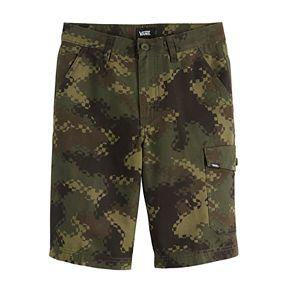 Boys 8-20 Vans Camo Canvas Cargo Shorts