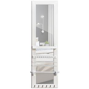 FirsTime & Co. Ava Over-The-Door Mirror Jewelry Armoire
