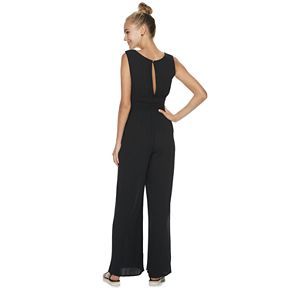Juniors' Mudd® Smocked Jumpsuit