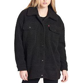 Women's Levi's Oversized Sherpa Trucker Jacket