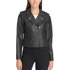 Women's Levi's® Faux-Leather Motorcycle Jacket