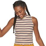 Juniors' Candies® Sleeveless Mock Neck