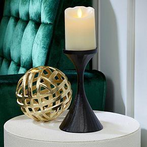 Scott Living Flameless 3'' x 4'' LED Wax Pillar Candle
