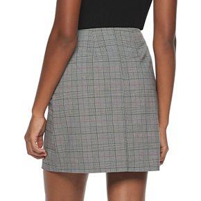 Juniors' Candie's® Side Zip Mini Skirt