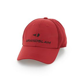 Men's Grand Slam Fitted Mesh Golf Cap