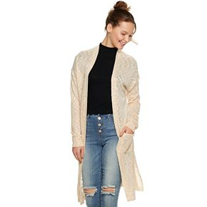 Juniors' Candie's® Duster Cardigan