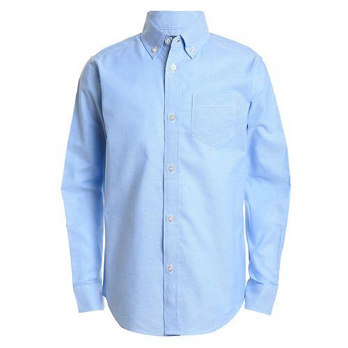 Boys 8-20 IZOD Button-Front Oxford Shirt