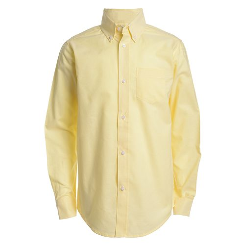 Boys 8-20 IZOD Button-Front Oxford Shirt