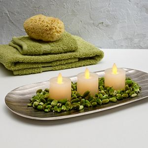 Scott Living Flameless LED Votive Candle 3-piece Set