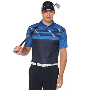 Men's Grand Slam DriFlow Classic-Fit Performance Medallion Print Golf Polo